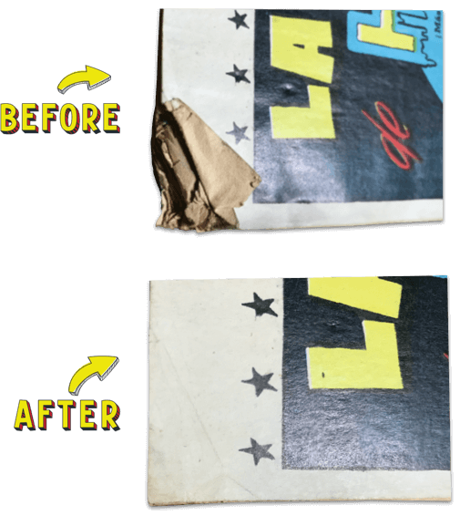 comic book pressing and restoration services